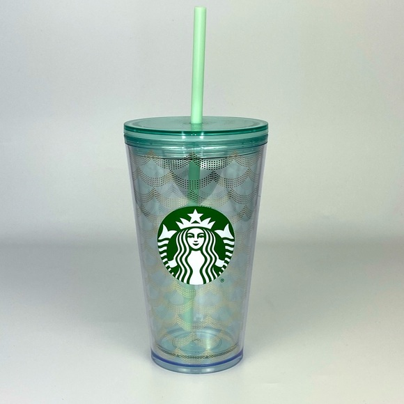 Starbucks Mermaid Scale Cold Cup Grande Tumbler